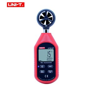 Image 2 - UNI T UT363BT Wind Meter Digitale Bluetooth Zakformaat Anemometer Meting Thermometer Mini Wind Meter Anemometer