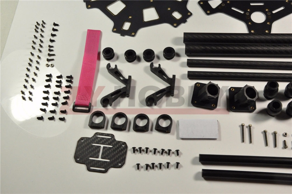 HMF S550pro F550 Hexacopter Frame Kit + Landing Gear for FPV MiniS800 NEW