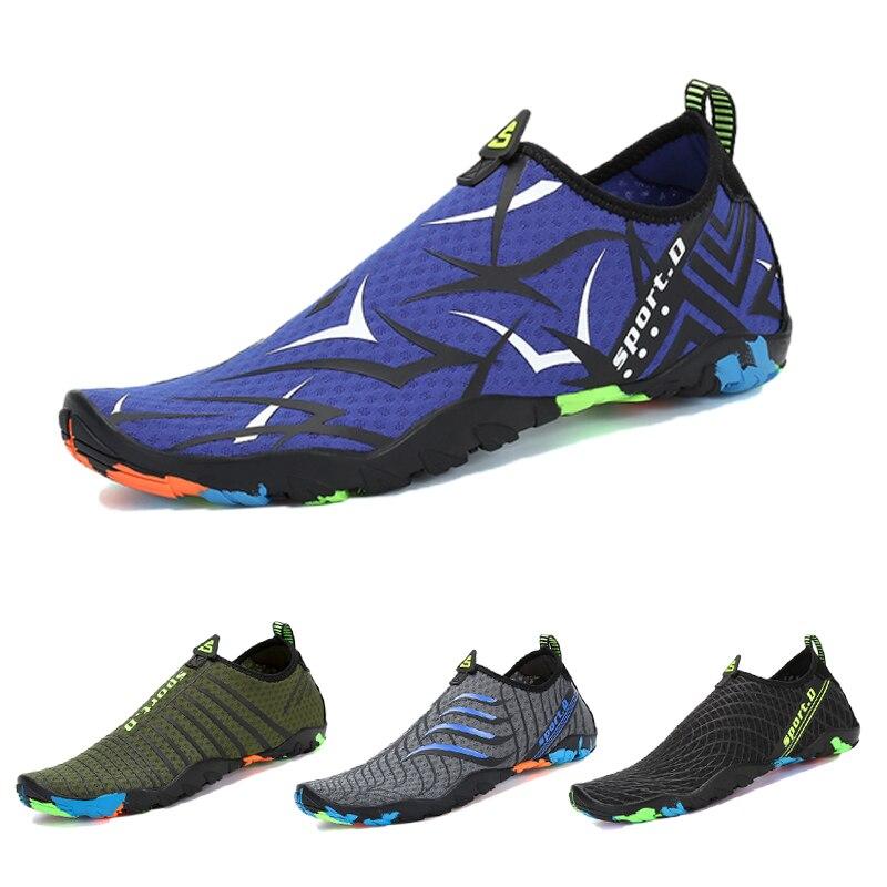 Aqua cipők Nyári cipők Férfiak lélegző úszás Búvár zokni - Tornacipő