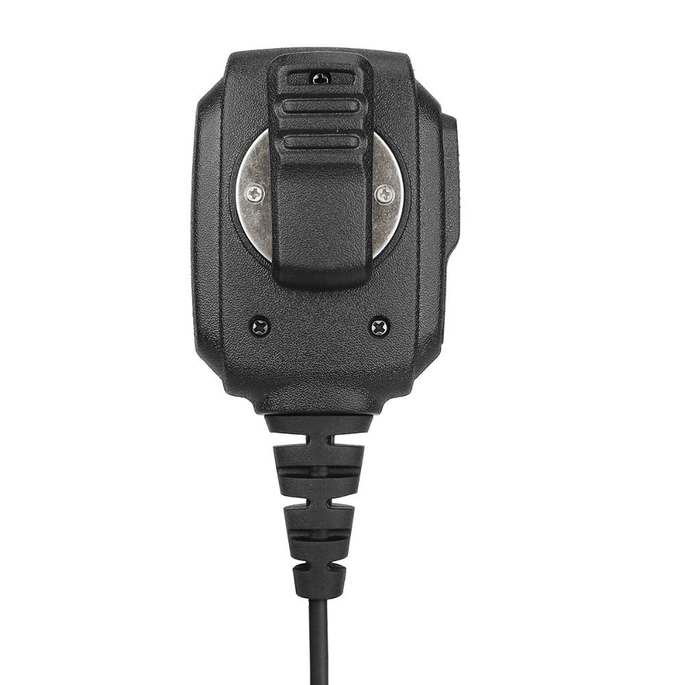 Image 5 - 10 pcs Wholesale RS 114 IP54 Waterproof Speaker Microphone For Kenwood RETEVIS H777 RT3 RT22 RT81 Baofeng UV 5R Walkie Talkie-in Walkie Talkie from Cellphones & Telecommunications