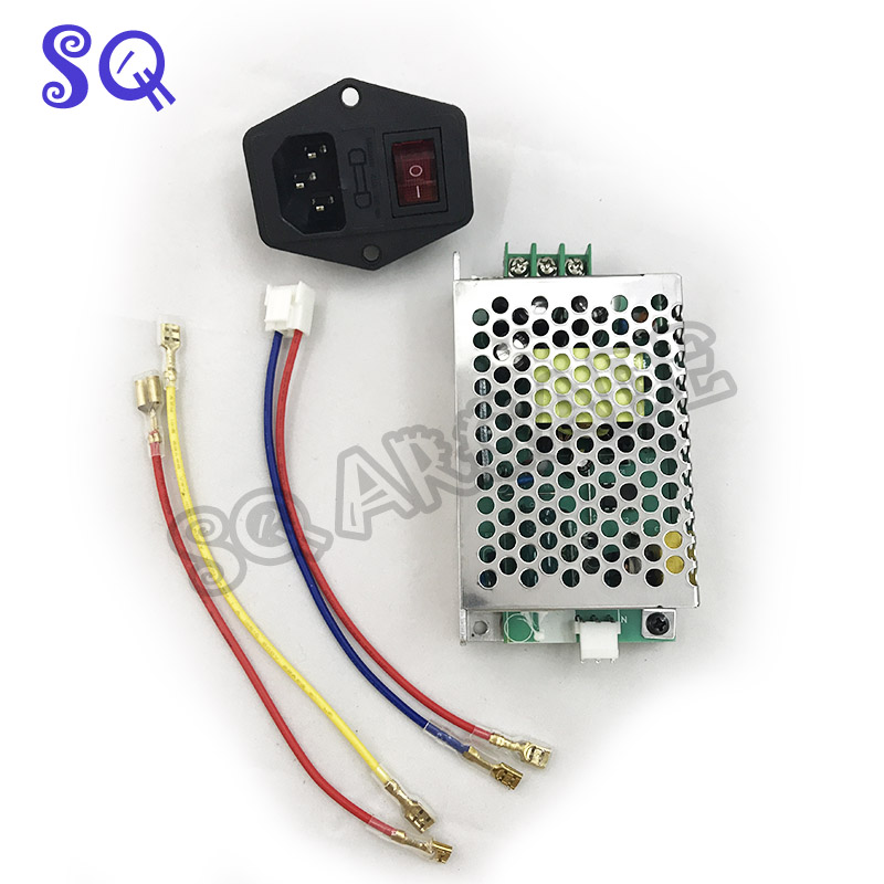 Free Shipping 110V/220V 5V 2A  12V 3A Power Supply Arcade Game Machine Switching Power Supply For Pandora Box 5