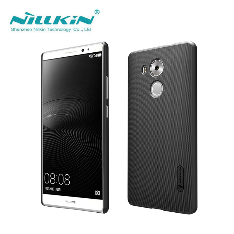 Huawei Mate 8 Case Huawei Mate 8 Cover Nillkin Super Frosted Shield Case For Huawei Ascend Mate 8 With Screen Protector