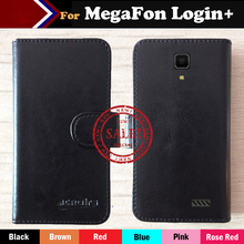 Factory Price Case For MegaFon Login+ Fashion Dedicated Side Slip Leather Protective Phone Cover Card Slots Wallet Bags phone case wood leather card metal glass plastic printing uv ink with factory price