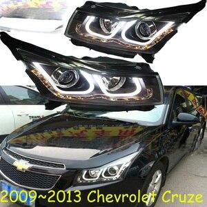 Image 4 - Bumper lamp for chevrolet Cruze Headlight 2009 2010 2011 2012 2013 DRL Bi Xenon Lens HI LO Parking HID Fog Lamp cruze Taillight