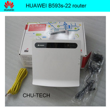 Oryginalny huawei b593 b593s-22 4g lte 150 cpe 150mbps router + 4g anteny
