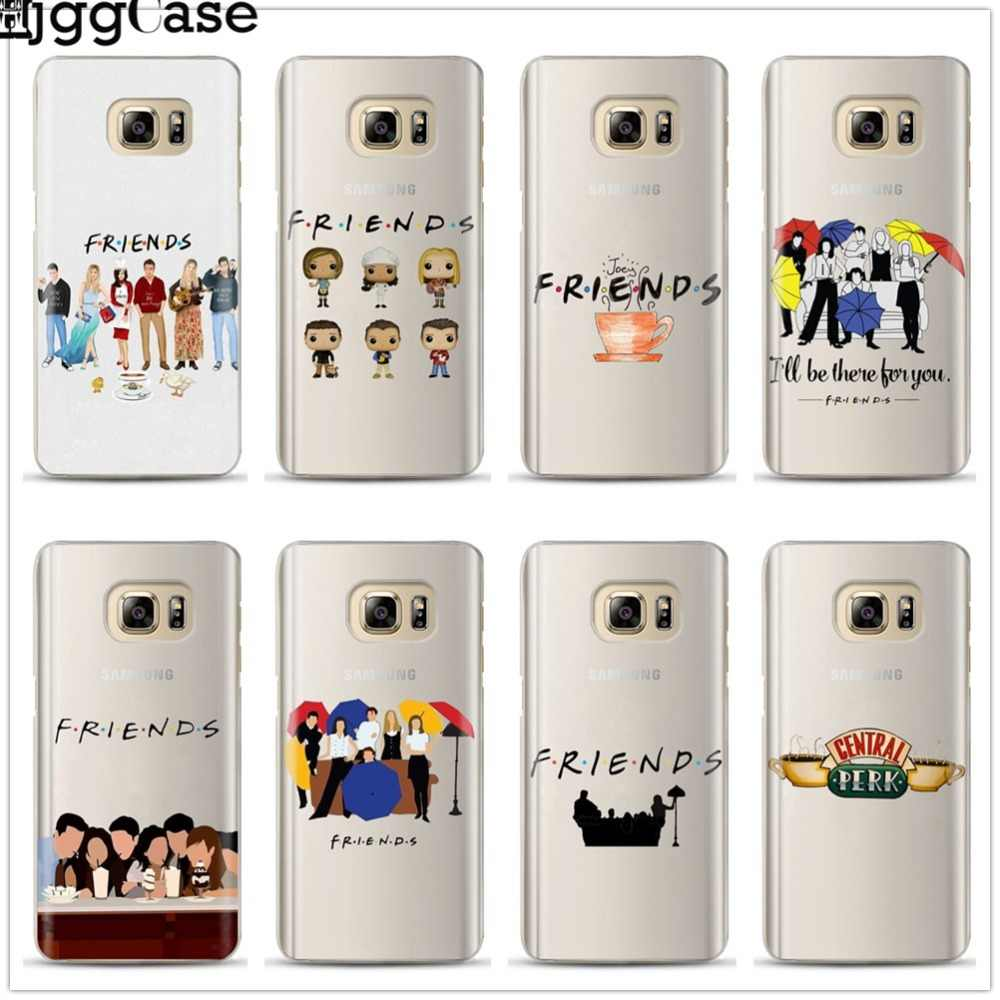 Friends FUNNY TV show poster Case For Coque Samsung Galaxy S6 S7 Edge S8 S9 J3 J4 J5 J6 J7 A3 A5 A6 A7 2016 2017 A8 plus 2018