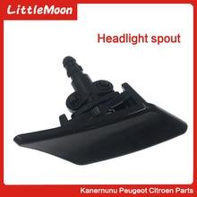 цена на LittleMoon Headlamp cleaning nozzle Headlamp nozzle headlight cleaning for Citroen C4 Triumph Peugeot 307