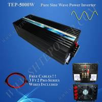 Солнечный ветер гибридной системы постоянного тока для автономный немодулированный синусоидальный сигнал инвертор 12 В 220 В 5000 Вт