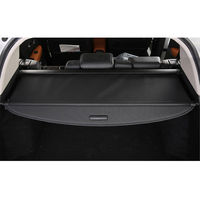 BBQ@FUKA 1x Car Cargo Trunk Liner Blind Cover Parcel Shelf Shade Fit For Honda Vezel HR V HRV 2014 2016 Car Accessories