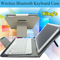 For Samsung GALAXY Tab A 9.7 T550 T551 T555 Detachable Wireless Bluetooth Keyboard Case Stand Cover With 4 gifts