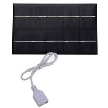 5 Вт в порт usb выход Солнечная Панель зарядное устройство с