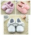 2016 Nova Infant Toddler Bebê Recém-nascido Sapatos super fibra Unisex Crianças Sneakers Bebe sapatos Fundo Macio sole Anti-slip nó arco Sapatos