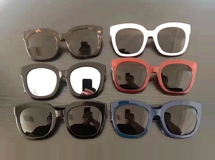 Korea Luxury V Brand Women Sunglasses Square Glasses Vintage Big Frame Sun Glasses Acetate Shades Gradient Eyeglasses UV400 oversized round women vintage sunglasses female original brand sun glasses big frame women s glasses feminine gogles
