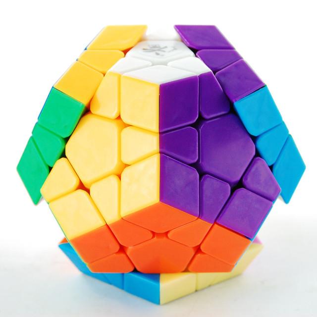 ^ _ ^ envío gratis! Dayan Megaminx 1 cubo Stickerless