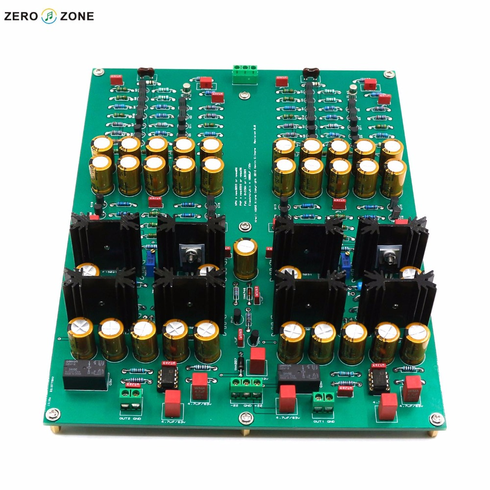 GZLOZONE Assembeled KG Edition KSA5 Headphone Amplifier Preamplifier Board Audio Amplifier Finished Board