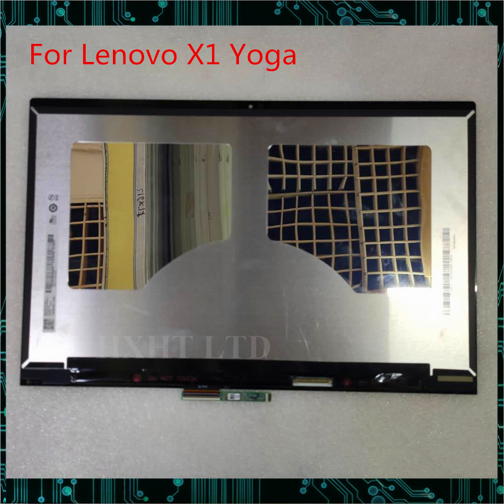 "For Lenovo X1 Yoga 2018 19 Version 14""notebook LCD LED screen touch assembly B140QAN02.2 2560*1440 FRU:00NY678 SD10M67986 Tested"
