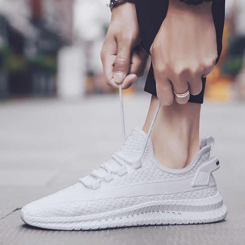 Spor ayakkabı erkekler koşu ayakkabıları kadınlar için Boost Max rahat hava örgü açık spor ayakkabılar sepeti Femme Zapatillas Hombre Deportiva