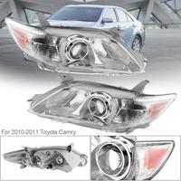 1 пара авто фары Clear проектор левой и правой фар Замена США построена модель для toyota camry 2010 2011