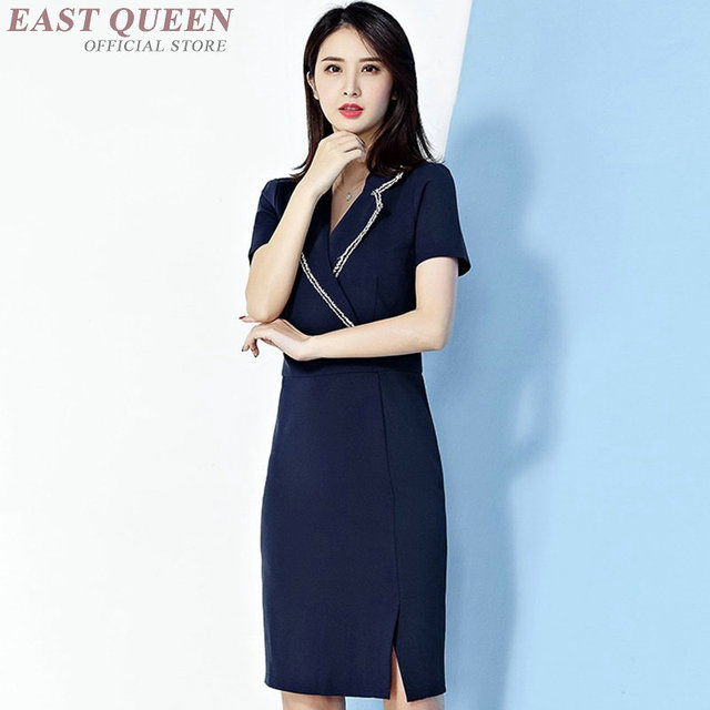 Beauty Salon Mage Uniform Dress Clinical Beautician Uniforms Woman Female Dresses Dd1359