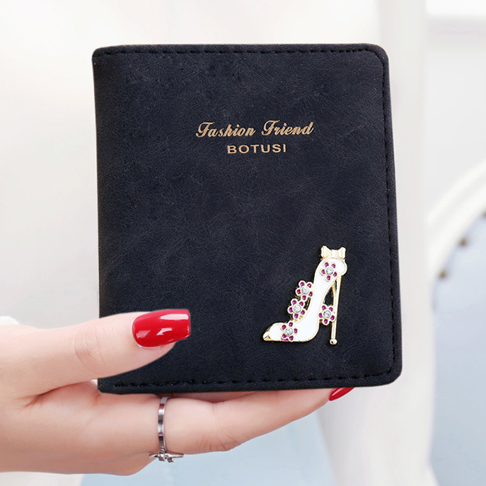 Lady Purse Money Clips Cards ID Holder Good Quality Girls Wallet Burse Clutch Money Bags Luxary Women Wallets Carteira Feminina