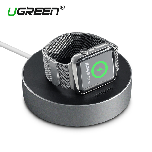 Ugreen Portable Charger Stand Holder With Cable Winder Charger Dock Stand for Apple Watch