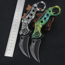 Cool Fashion Hunting Karambit Knife Cs Go Counter Strike Warcraft Fighting Survival Tactical Knife Claw Camping Knives Tool