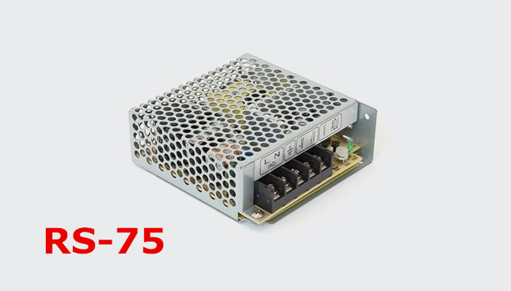1pc  RS-75-15  75w 15v 5A Switching Mode Power