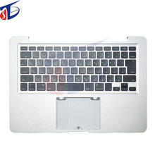 New A1278 topcase for macbook pro 13inch A1278 Japan JP Japanese keyboard with topcase top cover with backlight 2012year