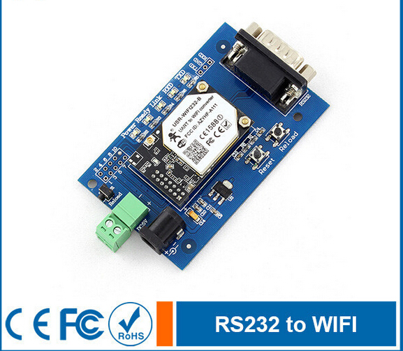 ФОТО Serial RS232 to Wifi Converter,Wifi Module Evaluation Board