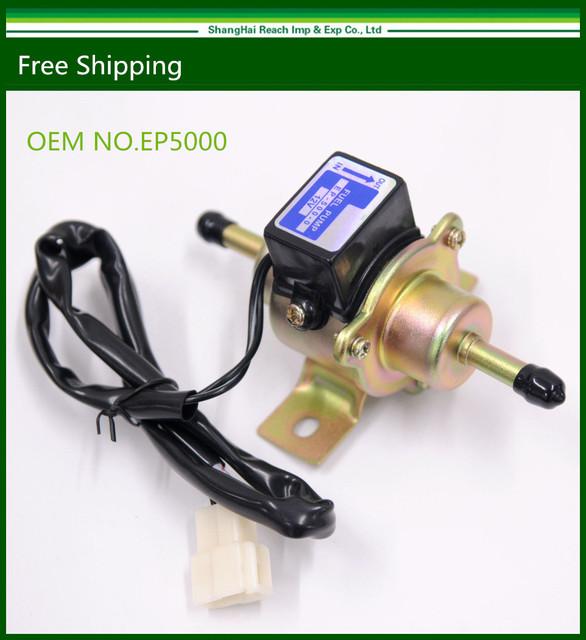 New Universal Diesel Bomba De Combustível Elétrica de Baixa Pressão do Gás 12 V EP5000