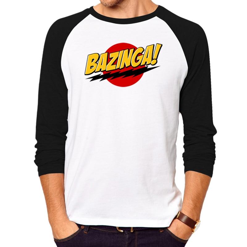 T Shirt Men Women Funny T Shirts Shock Lightning Bazinga