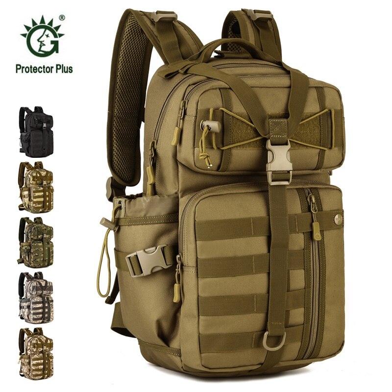 30L 3D sac de plein air Sport militaire tactique sac à dos voyage Camping randonnée sac à dos Trekking sac de voyage en plein air sac Camo