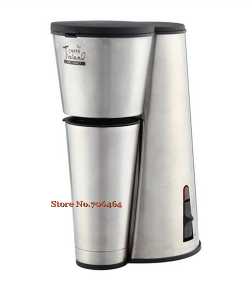 Drip Coffee Maker Stainless Steel : Aliexpress.com : Buy 110v/60hz stock Automatic coffee maker drip stainless steel body coffee ...