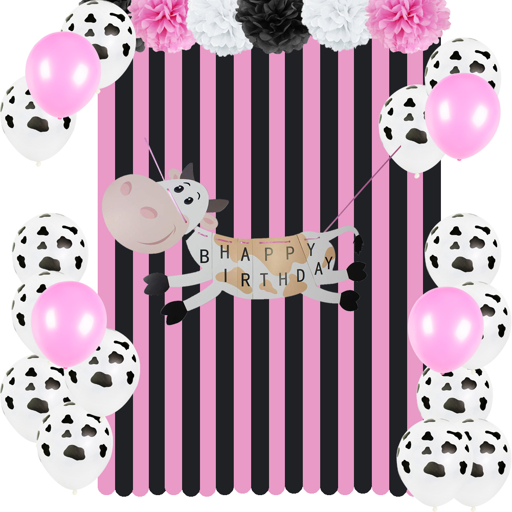 barnyard themed birthday party decoration kids cowgirl 1st farm animal diy banner baby shower decor