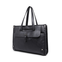 Formal Professional Men's Classic Handbag Business Briefcase Portfolio Messenger Bag Special Package for Business Negotiation