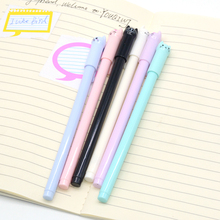 3 Pcs/Set gel pen kawaii cute cat Creative animal 0.5mm stationery l material escolar kalem caneta papelaria przybory szkolne