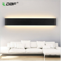 Warm White Modern LED Wall Lamp 6W Living Room Bedroom Bedside Lamp Aisle Bathroom Front Mirror