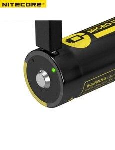 Image 4 - Batteria agli ioni di litio ricaricabile micro usb ad alte prestazioni NITECORE NL1835R/NL1834R/NL1826R 3.6V 18650