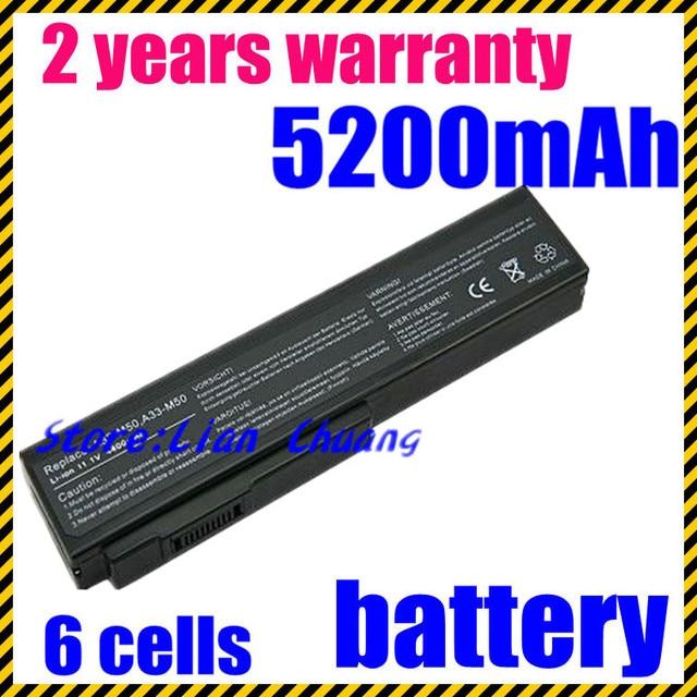 JIGU New Battery A32-M50 A32-N61 A32-X64 A33-M50 for Asus G50 G51 G60 M50 M51 M60 N43 N53 N61 N61-A1 N61J S N61V Series N61w X64