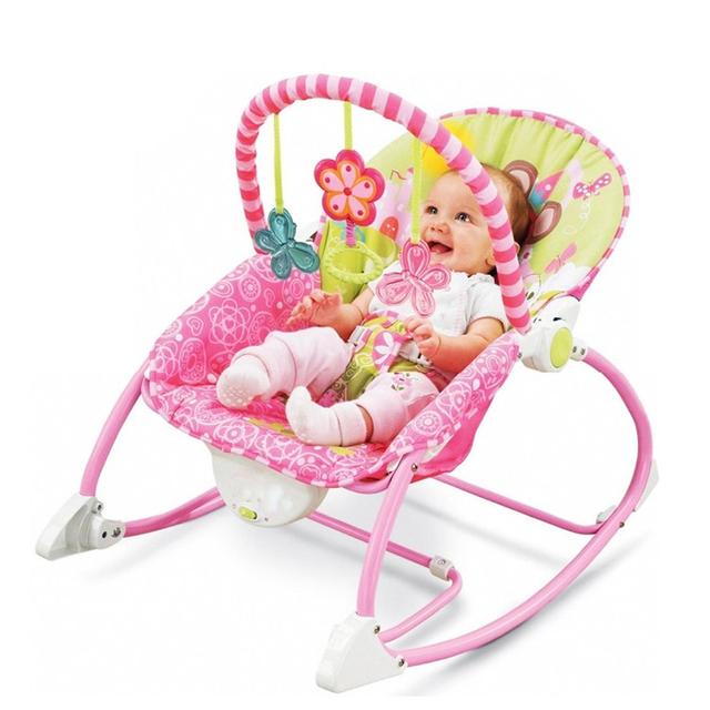 Bebé mecedora musical eléctrico bebé silla de oscilación de alta calidad vibratoria gorila bebé kids reclinable silla Ajustable cuna