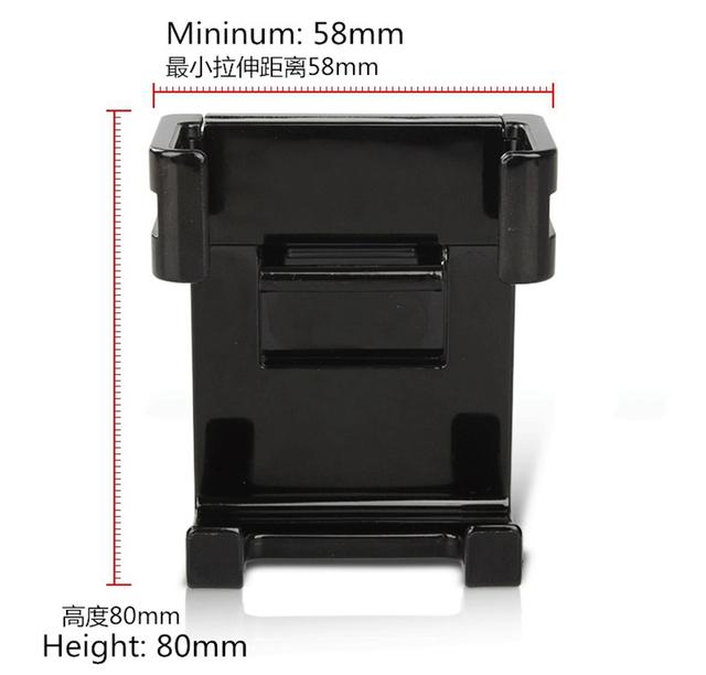 Universal Car Phone Holder Air Vent Mount Stand Holder Plate Bracket