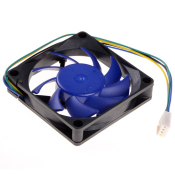 1 Piece 7CM 4Pin CPU Cooling Fan HeatSink Hydraulic Detachable Blades FY-715 Replacement Brushless Desktop Cooler Fans P0.11 Computer Components