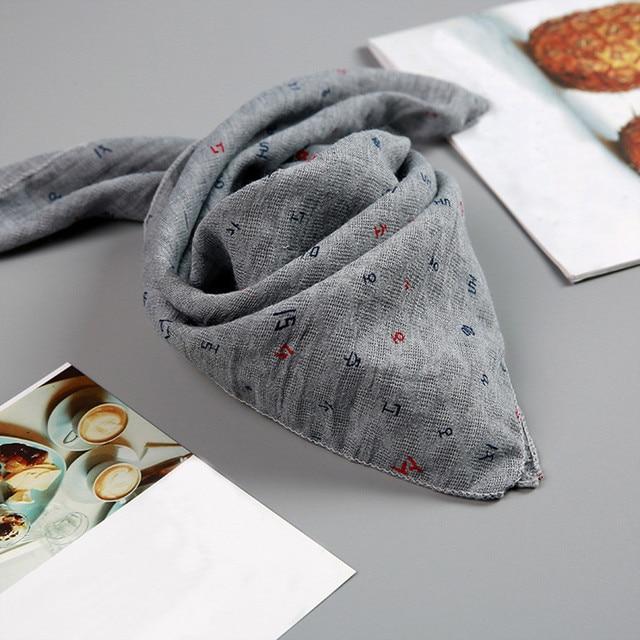 MUQGEW Baby Infants Newborn Soft Cartoon Letter Print Feeding Bibs Saliva Towel baby bibs cotton bandana accessories