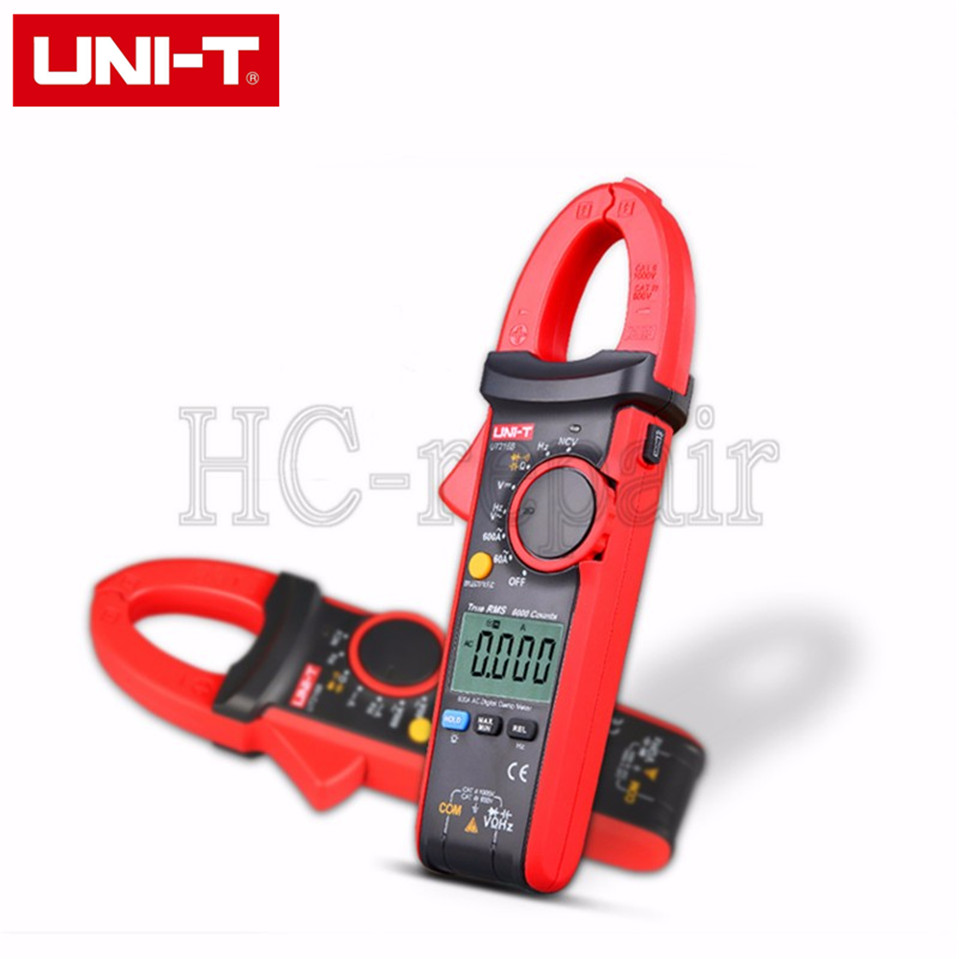 Free shipping uni-t ut216c 600A True RMS Digital Clamp Meters Auto Range w/Frequency Capacitance Temperature NCV Test uni t ut216c 600a true rms digital clamp meters auto range w frequency capacitance temperature