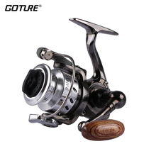 Goture Mini Fishing Reel MN100 4.3:1 Small Metal Spinning Reel Left/right Interchangeable Handed Winter Ice Wheel Max Drag 4kg