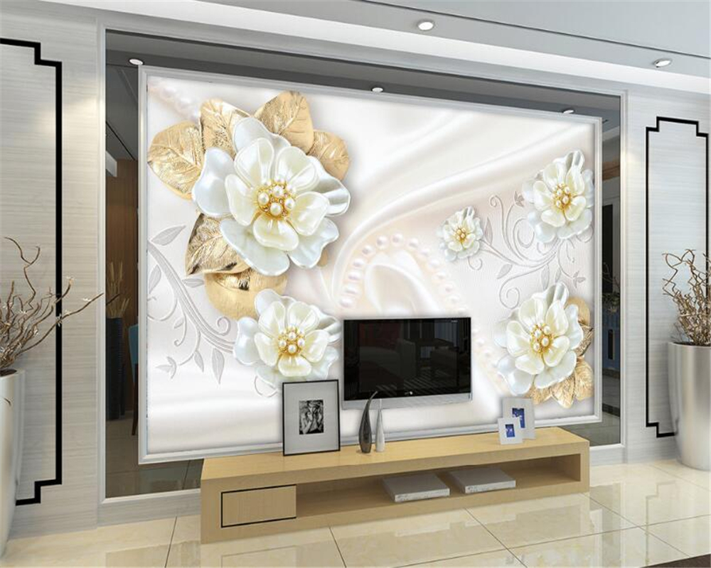 Beibehang Custom Wallpaper Living Room Bedroom mural Aesthetic 3d ...