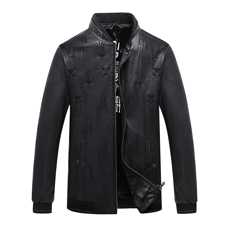 2018 PLUS size 9xl 8xl 6xl Men Leather Jacket Genuine Real Sheep Goat skin Brand Black Male Bomber Motorcycle Biker Man's Coat