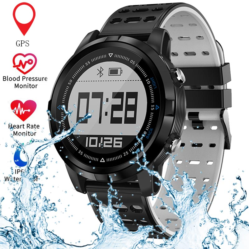 Bluetooth GPS Smart Watch Men Women Heart Rate Monitor Running Pedometer IP68 Waterproof Sports Watch For Android IOS SmartwatchBluetooth GPS Smart Watch Men Women Heart Rate Monitor Running Pedometer IP68 Waterproof Sports Watch For Android IOS Smartwatch