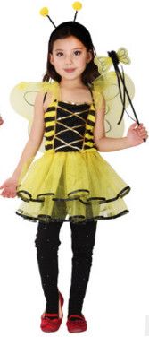 Image 3 - Children's costumes for Halloween Children's costumes Little bee costumes Butterfly cartoon baby dance clothes-in Girls Costumes from Novelty & Special Use