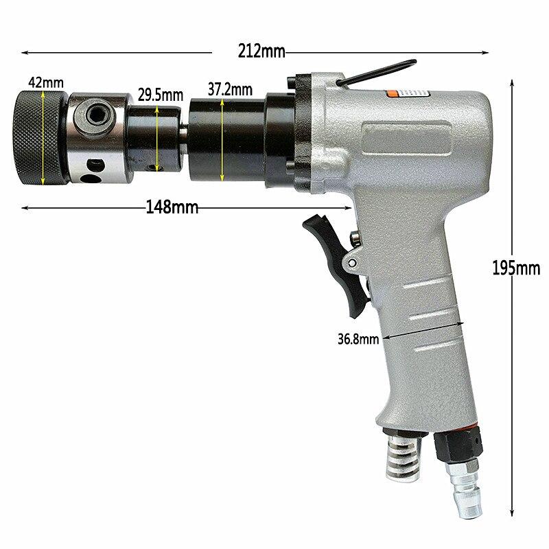pneumatikus menetfúró szerszám M3-M12 légfúrópisztoly - Elektromos kéziszerszámok - Fénykép 4